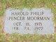 Profile photo:  Harold Philip Spencer Moorman