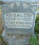 Profile photo:  Absaloh Cruse