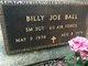 Profile photo:  Billy Joe Ball