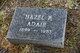 Profile photo:  Hazel B. Adair