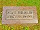 Profile photo:  Ada <I>Rogers</I> Bellinger