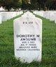 Profile photo:  Dorothy M <I>Nelson</I> Awsumb