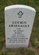 "Profile photo:  Lucien ""Big Lou"" Arsenault"