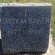 Daisy Mae <I>Crader</I> Baker