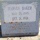 Harvey Wier Baker