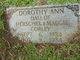 Profile photo:  Dorthy Ann Corley