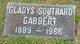 Gladys <I>Southard</I> Gabbert