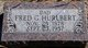 "Profile photo:  Frederick Gardner ""Fred"" Hurlbert"