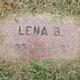 Profile photo:  Lena B Blanton
