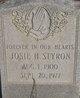 Josie H <I>Eason</I> Styron