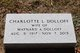 """Profile photo:  Charlotte L. """"Kiki"""" <I>Burnham</I> Dolloff"""