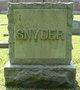 Profile photo:  Adolph Heller Snyder