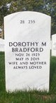 Profile photo:  Dorothy M <I>Shirley</I> Bradford