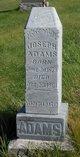 Profile photo:  Joseph Adams