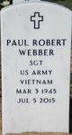 Profile photo:  Paul Robert Webber
