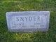 Profile photo:  Alvin H. Snyder