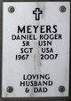 Profile photo:  Daniel Roger Meyers