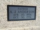 Profile photo:  Andrew Jackson Anderson