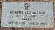 "Profile photo:  Robert Lee ""Bobo"" Allen"