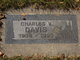 Profile photo:  Charles V. Davis