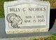 Billy G. Nichols