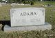 Mary Nina <I>Lewis</I> Adams