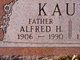 Profile photo:  Alfred H Kauth