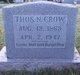 """Profile photo:  Thomas Newton """"Tom"""" Crow"""