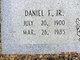 Profile photo:  Daniel Franklin Painter, Jr