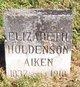 Elizabeth <I>Hudelson</I> Aiken