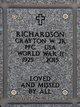 Profile photo:  Crayton Wesley Richardson, Jr