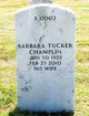Profile photo:  Barbara <I>Tucker</I> Champlin