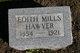 Profile photo:  Edith Edora <I>Mills</I> Hawver
