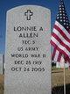 Profile photo:  Lonnie A Allen