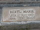 Beryl Marie <I>Gilman</I> Crawford