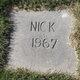 Profile photo:  Nick