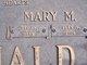 Mary Margaret <I>Peerman</I> McDonald