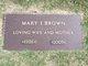 Mary Isabella <I>Newton</I> Brown