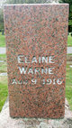 Profile photo:  Elaine Warne Emanuels