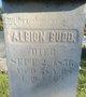 Profile photo:  Albion Budd