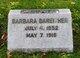Profile photo:  Barbara Bareither