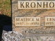 """Profile photo:  Beatrice Mae """"Bea"""" <I>Cheatle</I> Kronholm"""