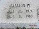 Braxton Warren Beal
