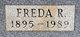 "Fredricka ""Freda"" M. <I>Broenhoffer</I> McIntosh"