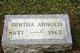 Profile photo:  Bertha <I>Petersen</I> Arnold