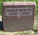 Homer Ervin Moritz