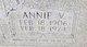 Profile photo:  Annie <I>Vaughn</I> Holdiness