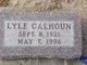 Profile photo:  Lyle G. Calhoun