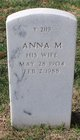 Profile photo:  Anna M Allenback