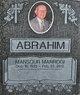 Profile photo:  Mansour Marrogi Abrahim